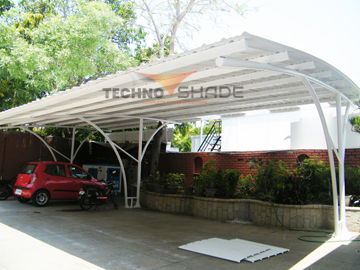 car parking polycarbonate shade