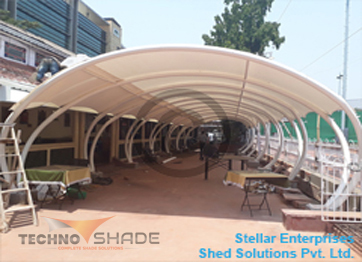Tensile and Sail Canopy